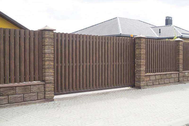 Aluzinc zogi staketa zogi Riga Latvija uzstadisana 12