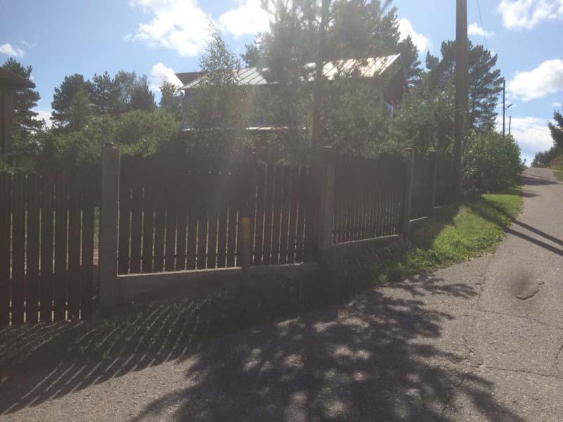 Aluzinc zogi staketa zogi Riga Latvija uzstadisana 25