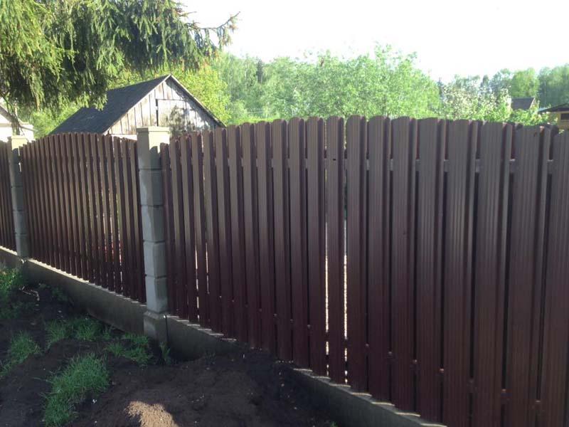 Aluzinc zogi staketa zogi Riga Latvija uzstadisana 3 1