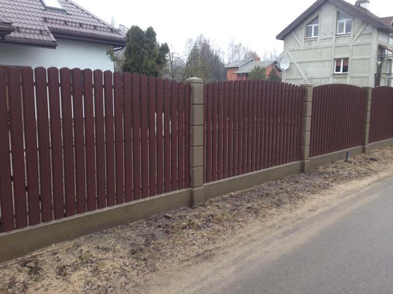 Aluzinc zogi staketa zogi Riga Latvija uzstadisana 4 1