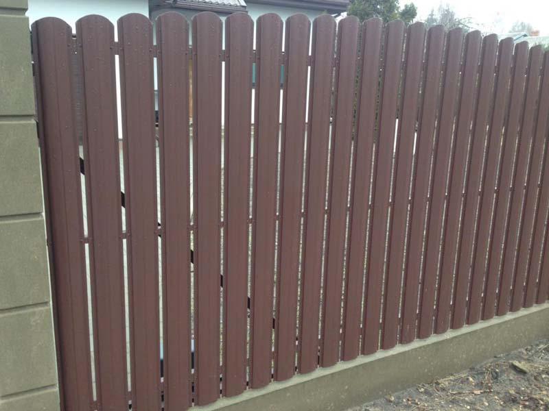 Aluzinc zogi staketa zogi Riga Latvija uzstadisana 5 1