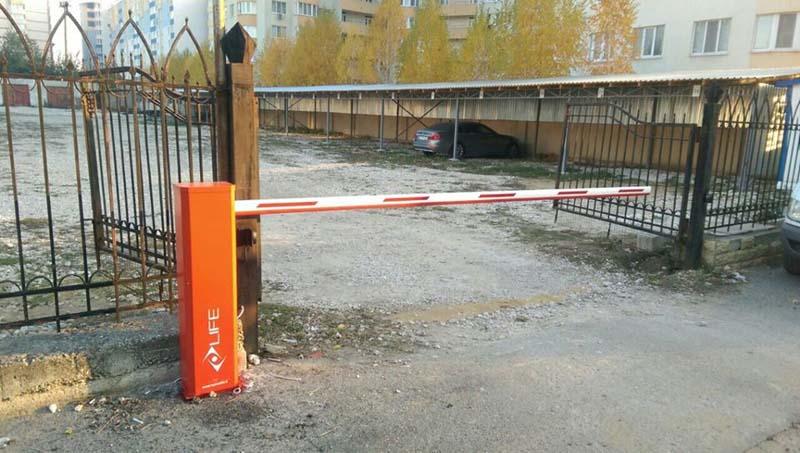 Automātiskās barjeras uzstādīšana Riga Latvija 1