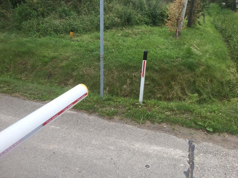 Automātiskās barjeras uzstādīšana Riga Latvija 12
