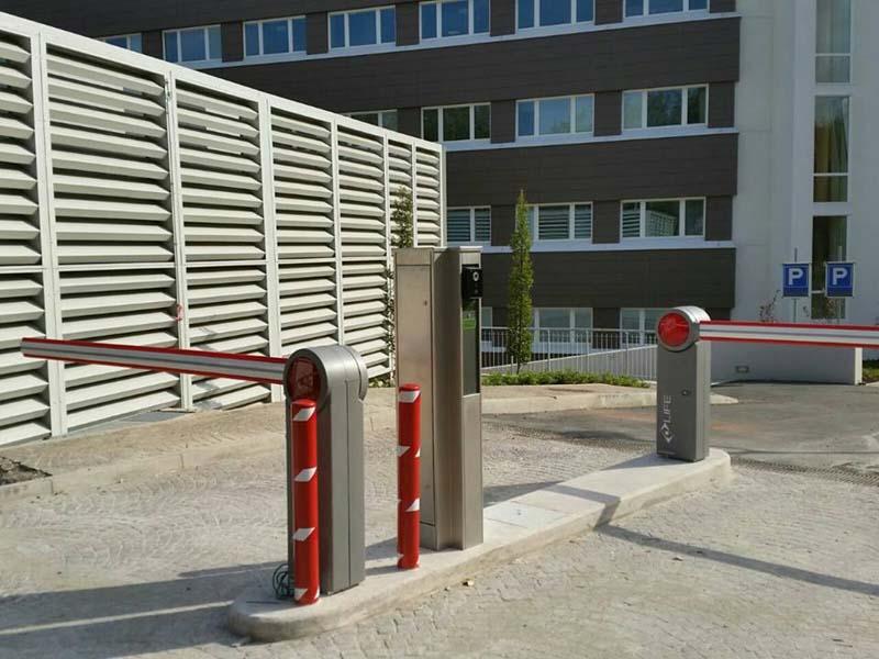 Automātiskās barjeras uzstādīšana Riga Latvija 5