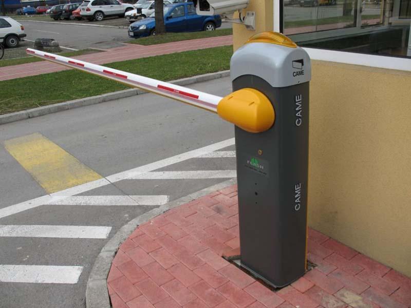 Automātiskās barjeras uzstādīšana Riga Latvija 7