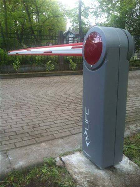 Automātiskās barjeras uzstādīšana Riga Latvija 8