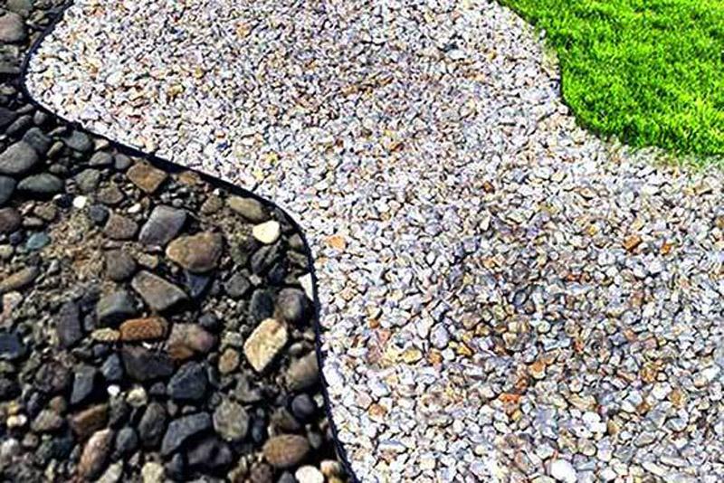 декоративный садовый бордюр из бетона купить